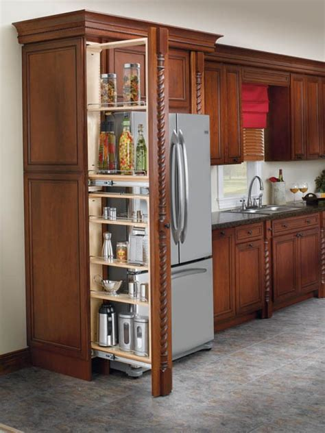 pull out cupboards kitchen storage rev a shelf filler pullout organizer w wood adjustable 7599
