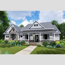 Modern Farmhouse With Sideload Garage And Optional Bonus
