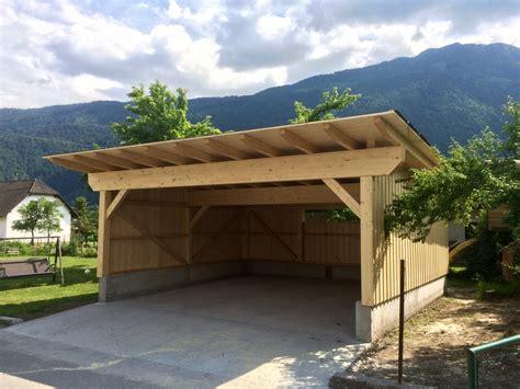 Carport Selbst Gebaut Welches Holz Eignet Sich Am Besten