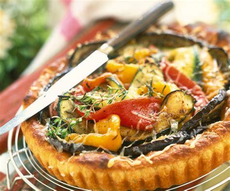 legume a cuisiner recette gourmande tarte aux légumes d été