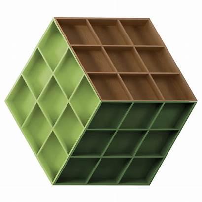 Cube Rubik Bookcase Rubika Bookshelf Inspired Anesis