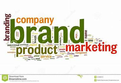 Brand Cloud Word Concept Tag Words Related