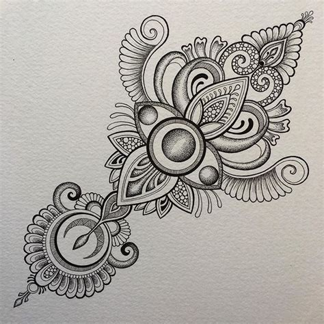 images  mandalas tattoo  pinterest henna