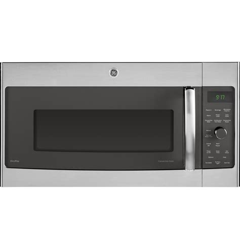 ge profile series  cu ft convection   range microwave oven pvmsfss ge