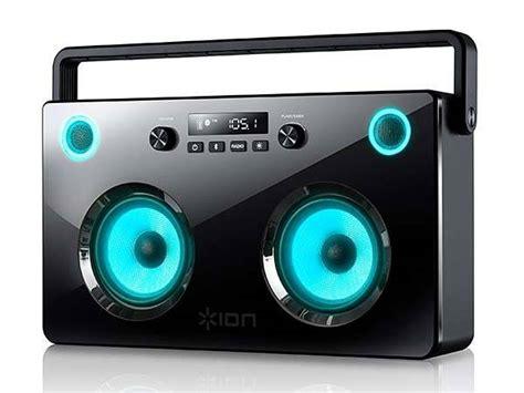 spectraboom bluetooth boombox  light  speakers
