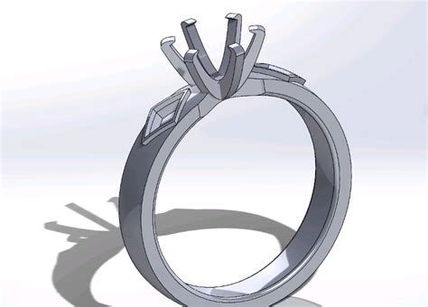 nasa engineer designs an original 3d printed engagement ring for a very personal