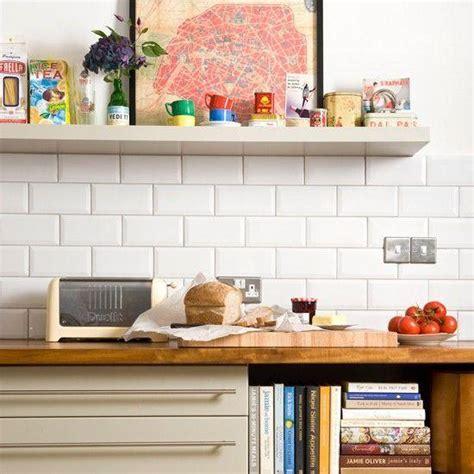 white brick tiles for kitchen azulejos biselados en la cocina paperblog 1749