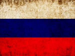 Grunge Russian Flag Wall Mural – Majestic Wall Art