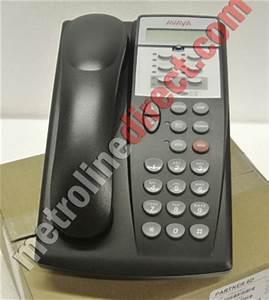 avaya partner 6d series 2 telephone black 700340169 With avaya partner 6d