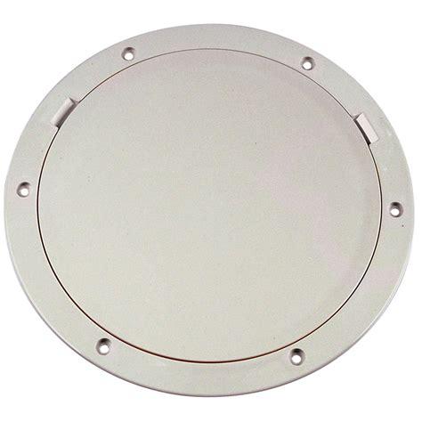 """Saapnicom Beckson 8"""" Smooth Center Pryout Deck Plate"""