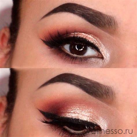 Возрастной макияж для карих голубых и зеленых глаз вечерний и на каждый день — видео и фото