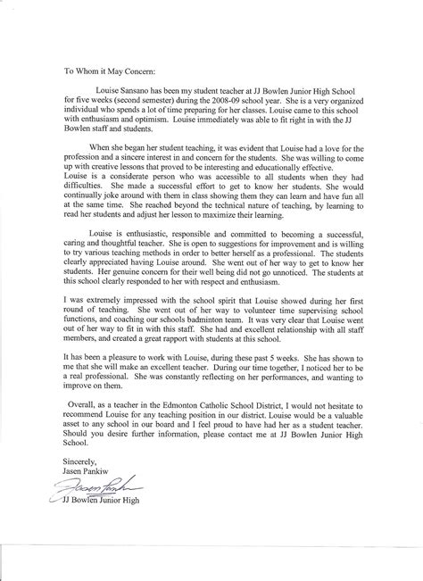 recommendation letter for student student letter of recommendation help 8450