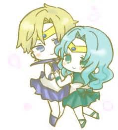 Chibi Sailor Moon Uranus and Neptune