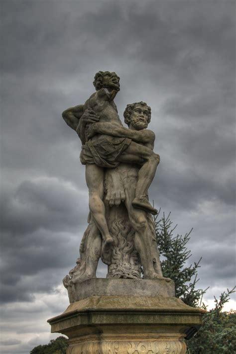 Hercules kills Antaeus | Antaeus, in Greek mythology, was ...