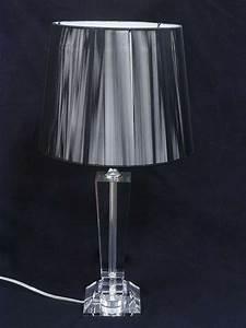 Tischleuchte Mit Schirm : tischleuchte tischlampe leuchte mit kristallst nder runden schirm 2970 ebay ~ Indierocktalk.com Haus und Dekorationen