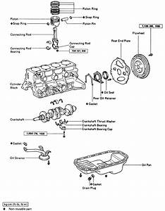 Toyota 22r Exploded View