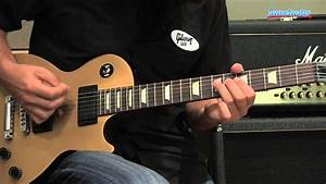Gibson Les Paul Lpj Goldtop Electric Guitar Demo