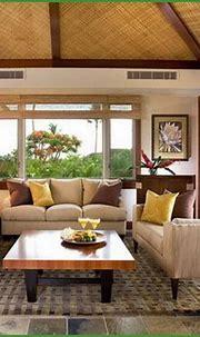 Tropical Living Room Decorating Ideas | Tropical living ...
