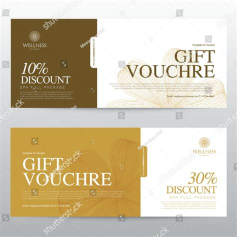 hotel voucher designs templates psd ai word