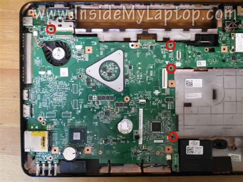 How Disassemble Dell Inspiron