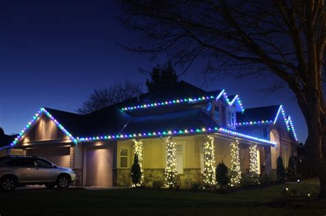 how to put christmas lights on house how to install christmas lights on a house light knights