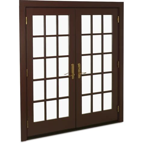 swinging patio doors marvin doors