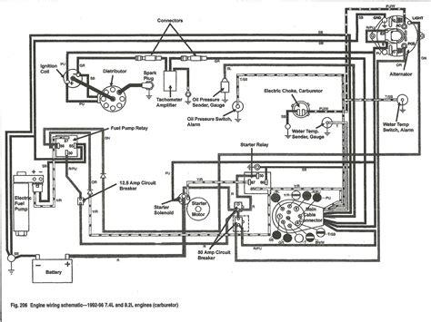 Thunderbolt Ignition Wiring by Mercruiser Thunderbolt V Ignition Wiring Diagram