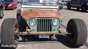 1960 Willys Jeep Rod Spotted YouTube