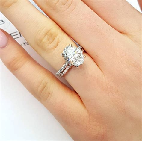 15 photo of white gold engagement rings with gold