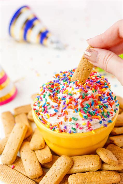 Funfetti Birthday Cake Dip  Sugar & Soul