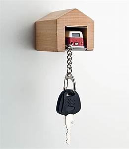 Clever, Car, Key, Holder, Design, Looks, Like, Mini, Garage