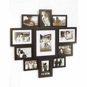 Umbra Wall Mounted Huddle Multi Frame - Large Espresso