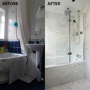 Before, And, After, From, Cramped, And, Dingy, To, An, Italian, Marble, Bathroom