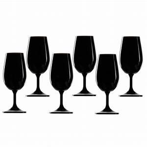 Verre A Vin Noir : verre noir verre vin noir d gustation type inao pas cher l 39 aveugle ~ Teatrodelosmanantiales.com Idées de Décoration