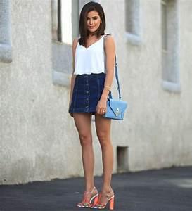 +1000 ideias sobre Estilo Saia Jeans no Pinterest | Saias ...