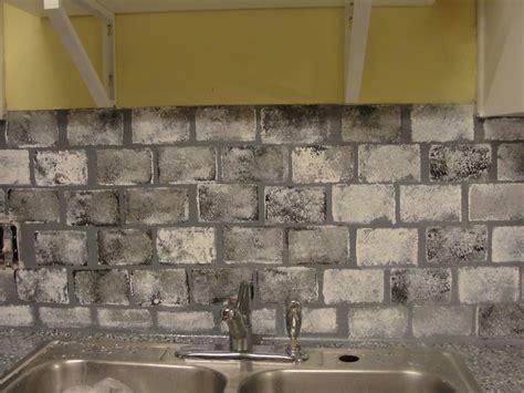 Faux Brick Kitchen Backsplash Diy Kitchen Updates On A Budget Faux Brick Kitchen Backsplash Living On And Cents