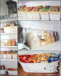 clutter free pantry i39m simply me With organizing free cluttered kitchen atorage ideas