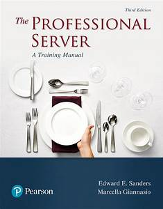 Sanders  U0026 Giannasio  Professional Server  The  A Training