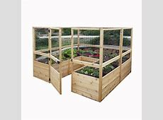 Outdoor Living Today 8 ft x 8 ft Cedar Raised Garden Bed