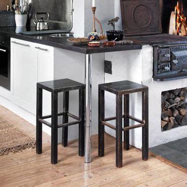 hauteur table bar pour cuisine pied inox pour plan de travail pied inox plan travail