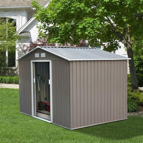 ebay garden shed 9 x6 outdoor storage shed garden utility tool backyard