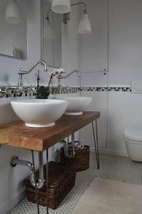 Waschbecken Auf Holzplatte : waschtisch aus holz f r aufsatzwaschbecken bauen ~ Sanjose-hotels-ca.com Haus und Dekorationen