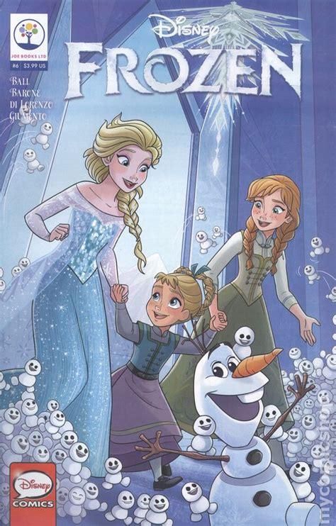 disney frozen  comic books