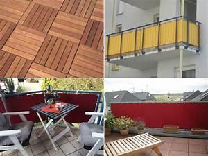 Balkon Bodenbelag Günstig : balkon tipp mit wenig aufwand zu einem neuen attraktiven ~ Sanjose-hotels-ca.com Haus und Dekorationen
