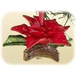 poinsettia bell ornament traditions 1 75 quot holiday traditions poinsettia ornament