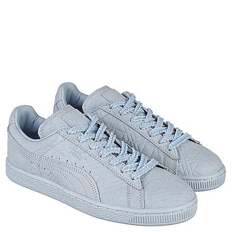 light blue puma shoes puma solange suede classic squares women 39 s light blue