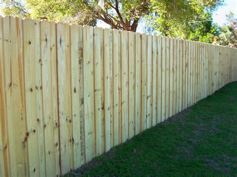 horizontal wood fences mossy oak fence wood board on board fence