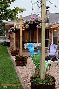 Backyard, Projects, 15, Amazing, Diy, Outdoor, Decor, Ideas