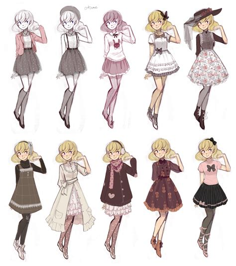 Cuteparade by Ruin-HCI.deviantart.com on @DeviantArt I would wear all of these | lolita stuff ...