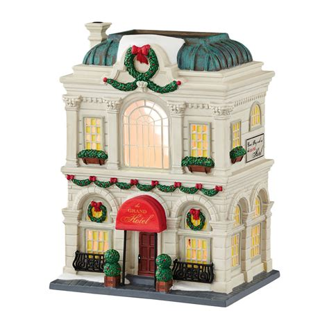 city lights collectibles department 56 4044790 the grand hotel